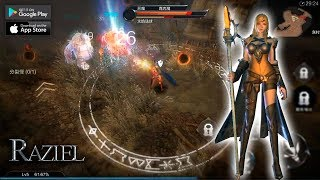 RAZIEL Action RPG - Estilo DIABLO (by Tencent) Gameplay + link [Android/iOS]