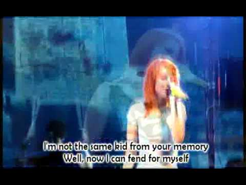 Paramore - Ignorance +lyrics