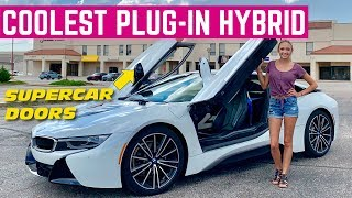 Car SHOPPING With My GIRLFRIEND *BMW i8*