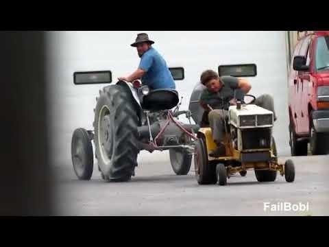 traktor fail compilation