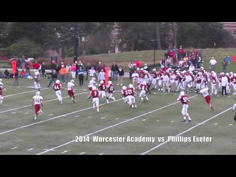 2014 Worcester Academy vs Phillips Exeter Football - 09/24/2014