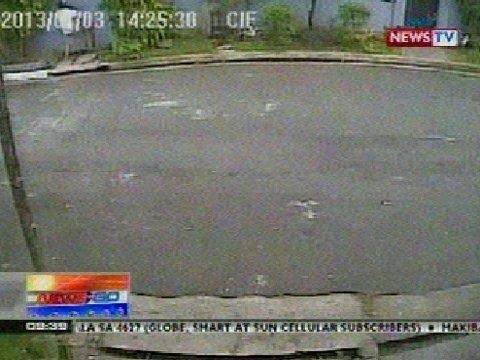 NTG: Pag-akyat-bahay sa QC ng isang lalaki, huli sa CCTV