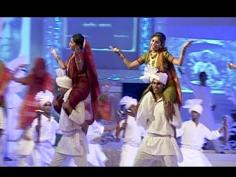 Dancers Perform To The Song Of Lakh Lakh Chanderi Tejachi -...