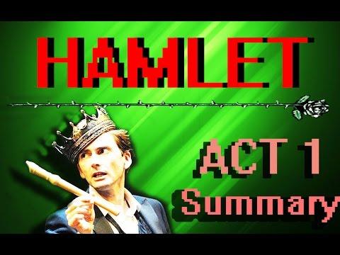Hamlet   ACT ONE Plot Summary   Shakespeare's Corner