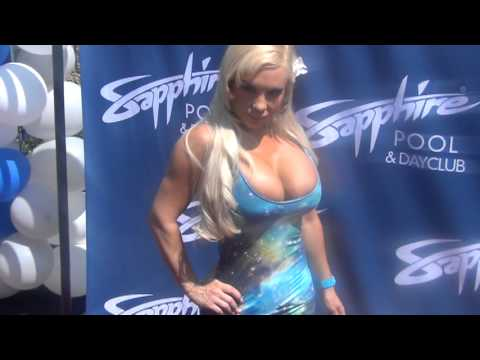 2013 Sapphire Vegas Pamela Anderson, COCO, Crystal Hefner, Adrian Grenier