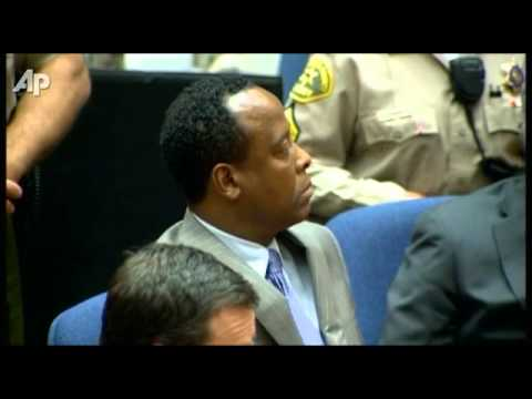 Conrad Murray Guilty  Jurors Find Doctor Responsible For Michael Jackson's Death