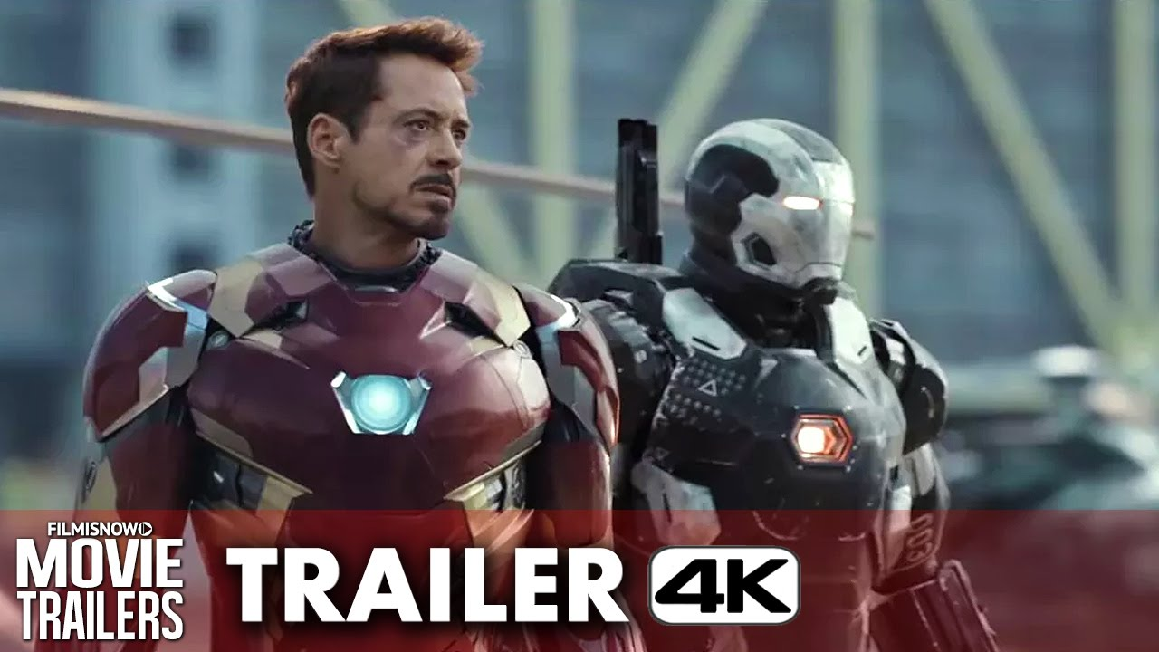 Marvel's Captain America: Civil War Official Trailer #1 - 4K Ultra HD