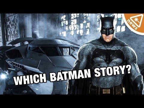 6 Batman Stories Perfect for Ben Affleck's Solo Movie! (Nerdist News w/ Jessica Chobot)