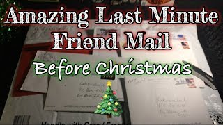 Amazing Last Minute Friend Mail Before Christmas
