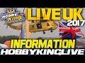 HK Live UK Show Information - HobbyKing Live 2017
