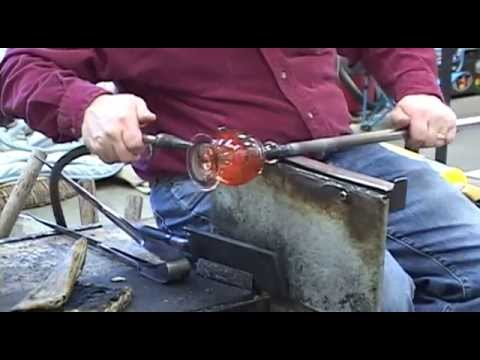 Glass Blowing,Perfume Bottle, How do they do it,Michael Trimpol craft of glass blowing