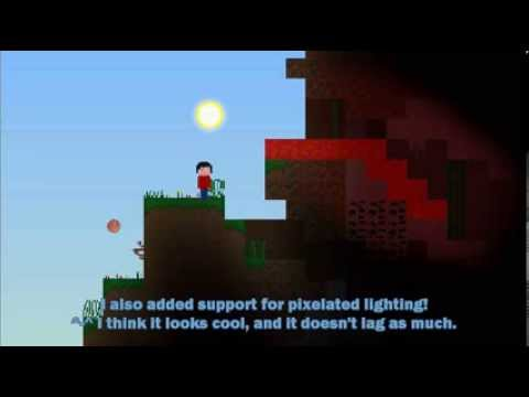 Mine Blocks 2 alpha 0.7 - Lighting Demonstration