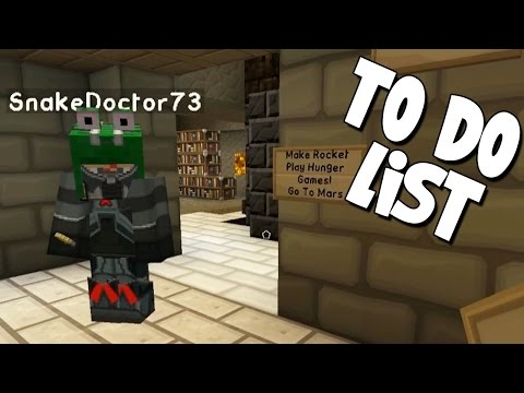Minecraft - Mission To Mars - To Do List! [15]