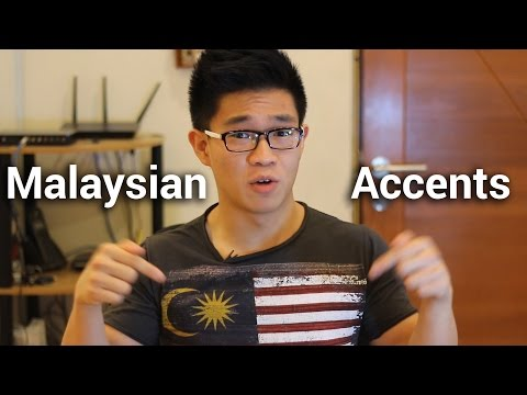 Malaysian Accents video