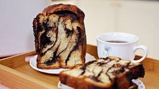 Chocolate Swirl Bread (Babka) - Panasonic Bread Maker SD-P104 - Recipe By ZaTaYaYummy