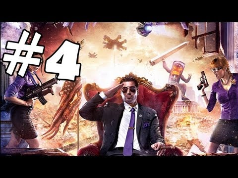Saints Row 4 Walkthrough Part 4 *SPOILERS* Gameplay Review Let's Play Playthrough PC XBOX 360 PS3