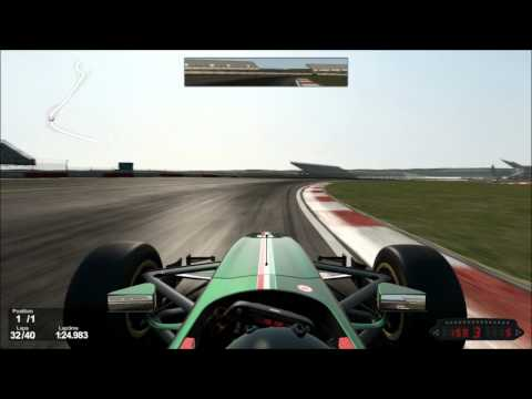 PROJECT CARS - Formula GP2 - Northampton - Gameplay
