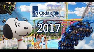 Cedar Fair NEW for 2017 Attractions! (Cedar Point, Kings Island and more!)