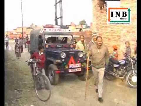 INB News : Muzaffar Nagar Live - People ransack power station in Uttar Pradesh