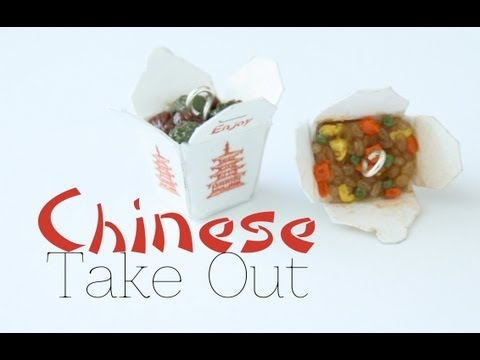 Chinese Take Out Box Charms
