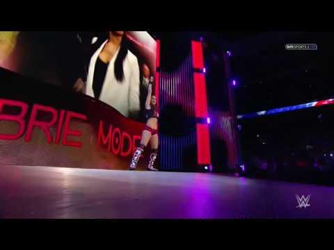 Brie Bella Entrance