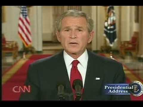 George W Bush bail out plan - Part 2 Sept 24, 2008