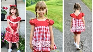 How to sew a Dress - Millie