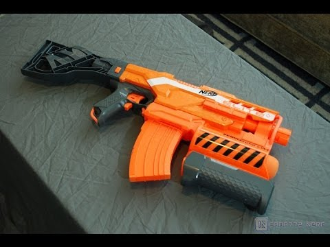 [REVIEW ] Nerf Elite Demolisher 2-in-1 Unboxing. Review. & Firing Test