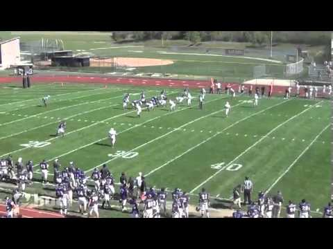 Jon Carrabino Defiance College Highlights - Class of '13 - WR #7