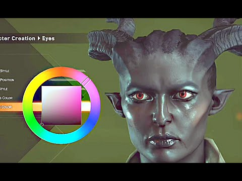 Dragon Age Inquisition Character Creation & Gameplay