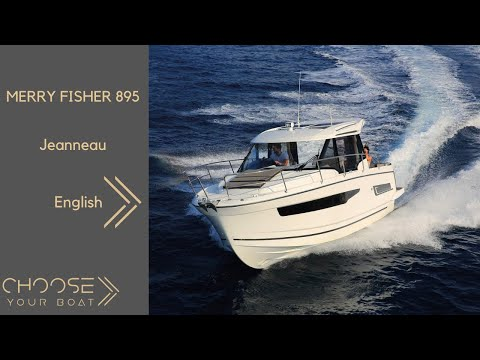MERRY FISHER 895 by Jeanneau: Guided Tour Video  (in English)