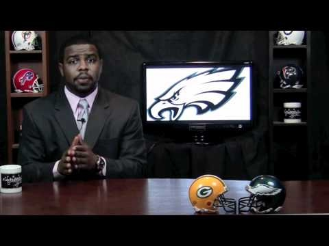 Football Gameplan's 2010 NFL Week 1 Preview (Green Bay Packers at Philadelphia Eagles) Video