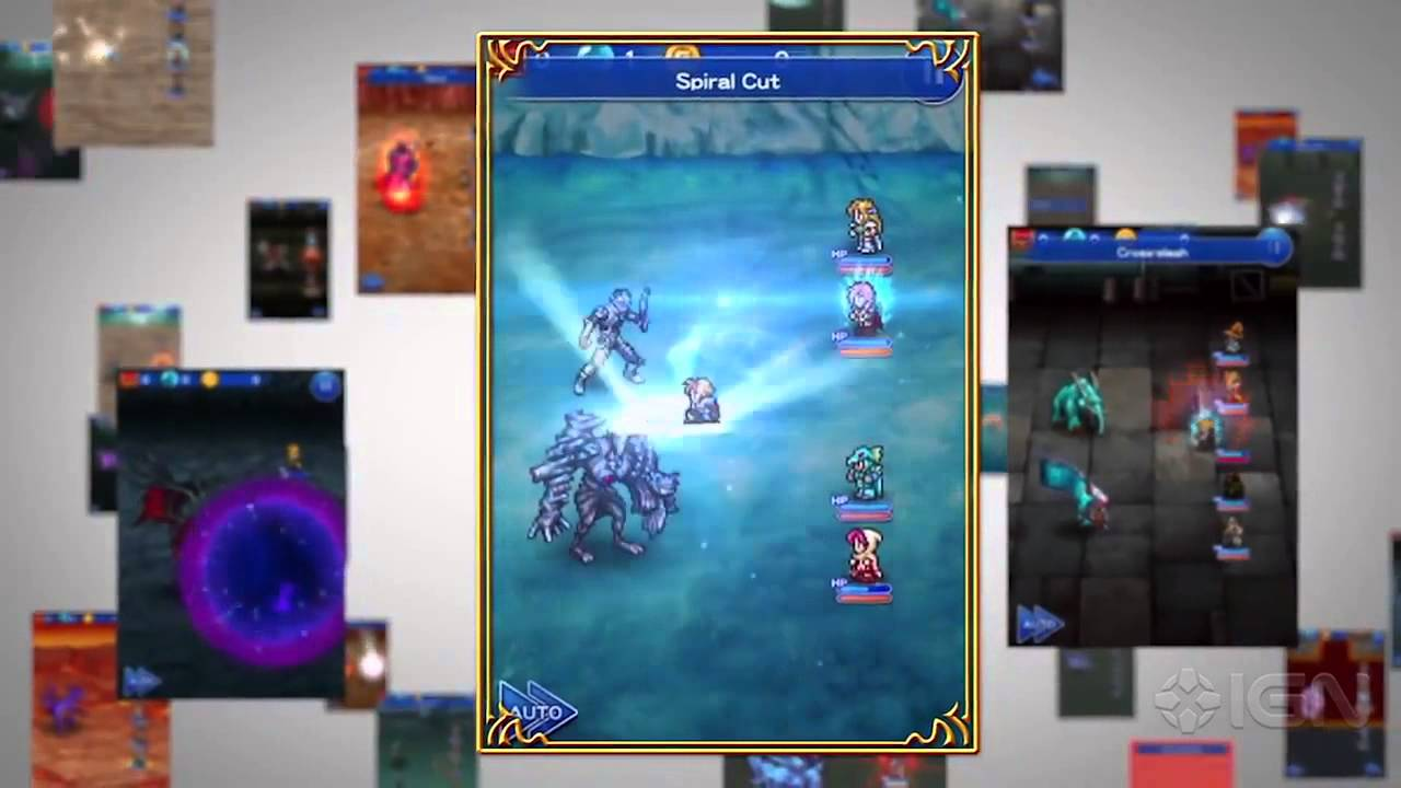 Relive all of your favorite Final Fantasy moments in Final Fantasy: Record Keeper, coming to North America in spring 2015.