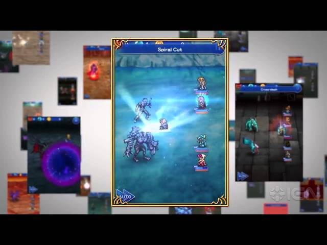 Final Fantasy: Record Keeper Official Trailer