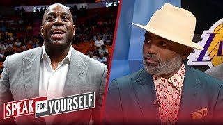 Cuttino Mobley talks Magic Johnson's comments about Rob Pelinka & Lakers | NBA | SPEAK FOR YOURSELF