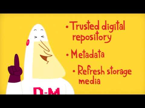 Digital Preservation and Nuclear Disaster: An Animation