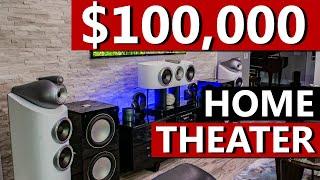 $100,000 7.2.6 Dolby Atmos / 13.2 Auro-3D Home Theater - B&W, REL, Arcam, Savant, Denon, Oppo