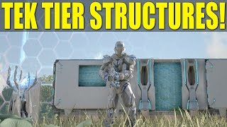 NEW TEK TIER STRUCTURES! (How Not To Be a Noob/How To) - Ark: Survival Evolved