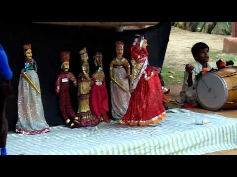 A Traditional Rajasthani Puppet Show
