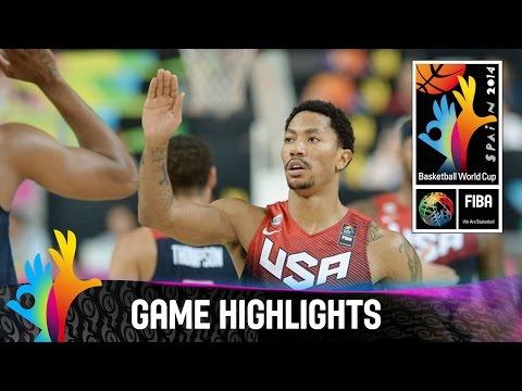 Slovenia v USA - Game Highlights - Quarter Final - 2014 FIBA Basketball World Cup