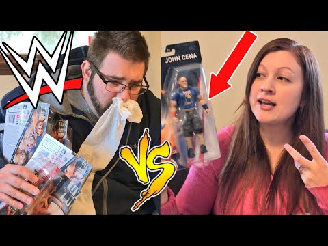 SICKEST UNBOXING EVER! WWE 2K18 CAW CHALLENGE! WWE Elite Figure HYPE!