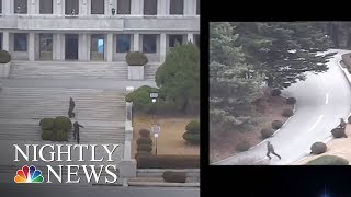 North Korean Soldier Makes Desperate Escape In Border Chase | NBC Nightly News