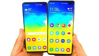 Galaxy S10 and S10 Plus Now...