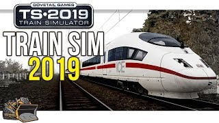 Train Simulator 2019 64-bit gameplay ICE 3M Frankfurt