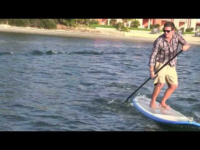 San Diego Activities - Paddleboarding at Bahia Resort Hotel