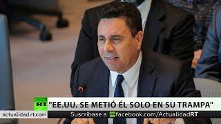 """Embajador de Caracas ante la ONU a RT: """"EE.UU. se metió él solo en su trampa"""""""