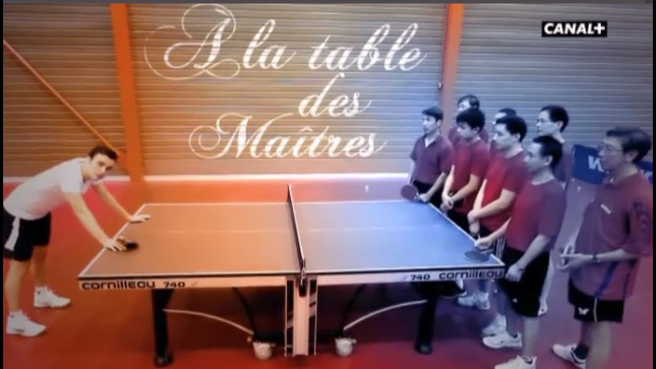 Int rieur sport a la table des ma tres avec simon gauzy for Interieur sport canal plus