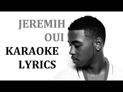 JEREMIH - OUI KARAOKE COVER LYRICS