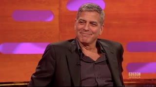 How George Clooney pranked Meryl Streep & Brad Pitt - The Graham Norton Show