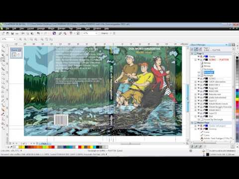 CorelDRAW Tutorial | Creating an Illustration for Use in a Book Cover Design